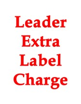Extra Label Upcharge